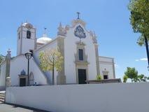 Iglesia blanca en Portugal Imagenes de archivo