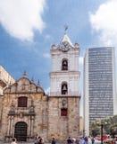 Iglesia Bogotá Colombia de San Francisco Fotos de archivo