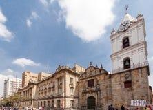 Iglesia Bogotá Colombia de San Francisco Imagenes de archivo