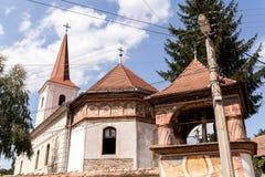 Iglesia Brancoveanu en Ocna Sibiului imágenes de archivo libres de regalías