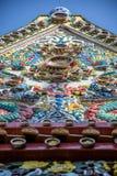 Iglesia budista construida de la porcelana Fotos de archivo