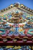 Iglesia budista construida de la porcelana Foto de archivo