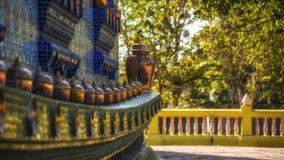 Iglesia budista construida de la porcelana Fotografía de archivo libre de regalías