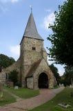 Iglesia Burwash del St Batholomews Fotografía de archivo libre de regalías