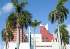 Iglesia céntrica de Miami Foto de archivo libre de regalías