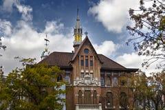 Iglesia Carmen Valencia Stock Images