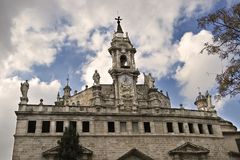 Iglesia Carmen Valencia Royalty Free Stock Photo