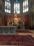Iglesia católica Imágenes de archivo libres de regalías