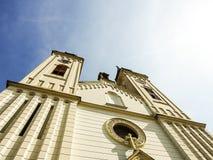 Iglesia católica Imagen de archivo libre de regalías