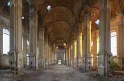 Iglesia católica abandonada de Zelts, Ucrania fotografía de archivo libre de regalías