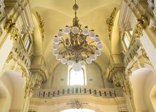Iglesia católica, catedral del jurado del St Fotografía de archivo