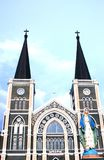 Iglesia católica, chantaburi, Tailandia Imagen de archivo