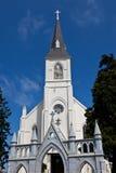 Iglesia católica cruzada santa Imagen de archivo libre de regalías