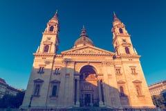 Iglesia católica de la basílica del ` s de St Stephen Fotografía de archivo