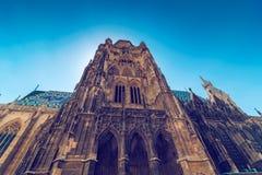 Iglesia católica de la basílica del ` s de St Stephen en Viena Imágenes de archivo libres de regalías
