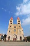Iglesia católica de Qingdao Fotos de archivo