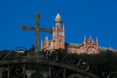 Iglesia católica de Sheshan, Shangai Imágenes de archivo libres de regalías