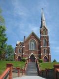 Iglesia católica de Vermont Fotografía de archivo libre de regalías