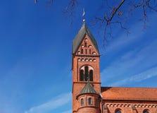 Iglesia católica en Bremen Alemania Imagen de archivo libre de regalías
