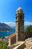 Iglesia católica en Kotor Imágenes de archivo libres de regalías