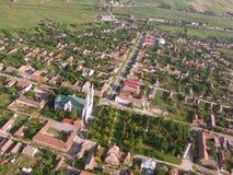 Iglesia católica en Rumania foto de archivo libre de regalías