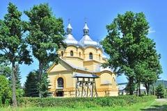 Iglesia católica griega Imágenes de archivo libres de regalías