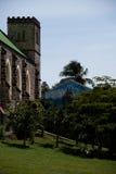 Iglesia católica romana de Tivoli, Grenada Fotografía de archivo