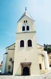 Iglesia católica romana del nacimiento de la Virgen María, Trencin Imagen de archivo libre de regalías