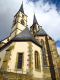 Iglesia católica vieja Foto de archivo libre de regalías