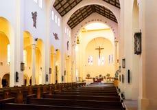Iglesia Catedral De San Agustin de talki Fotografia Royalty Free