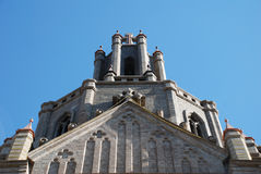 Iglesia católica romana. Fotografía de archivo libre de regalías
