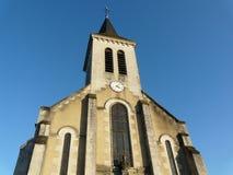 Iglesia cerca de Poitiers en Francia Imagen de archivo