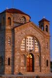 Iglesia Chipre de Jorge de los agios Fotos de archivo libres de regalías