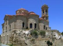 Iglesia chipriota griega Foto de archivo libre de regalías