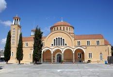 Iglesia chipriota tradicional Imágenes de archivo libres de regalías
