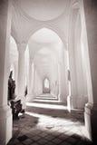 Iglesia cisterciense del monasterio imagen de archivo libre de regalías