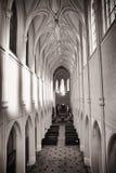 Iglesia cisterciense del monasterio imágenes de archivo libres de regalías