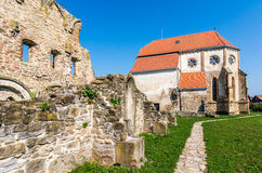Iglesia cisterciense vieja en Carta, Rumania Imagen de archivo libre de regalías
