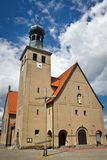 Iglesia clásica vieja en Polonia Foto de archivo libre de regalías