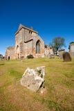 Iglesia colegial de Crichton, Edimburgo, Escocia foto de archivo