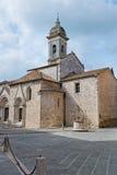 Iglesia colegial de los santos Quirico y Juliet Imagen de archivo