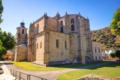 Iglesia colegial de Santa Maria, Villafranca del Bierzo Foto de archivo libre de regalías