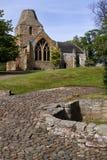 Iglesia colegial de Seton, Edimburgo, Escocia imagenes de archivo