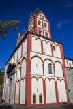 Iglesia colegial de St Bartholomew en Lieja, Bélgica, visión exterior foto de archivo libre de regalías