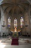 Iglesia colegial del St Martha, Tarascon Imagen de archivo libre de regalías