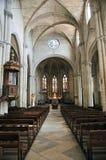 Iglesia colegial del St Martha, Tarascon Fotografía de archivo