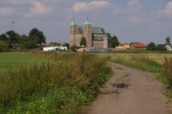 Iglesia colegial en el Tum - Polonia fotos de archivo libres de regalías