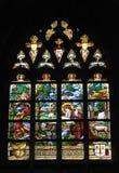 Iglesia colegial San Martín en Aalst Fotografía de archivo