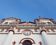 Iglesia colonial imagen de archivo