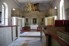 Iglesia colonial de Williamsburg Foto de archivo libre de regalías